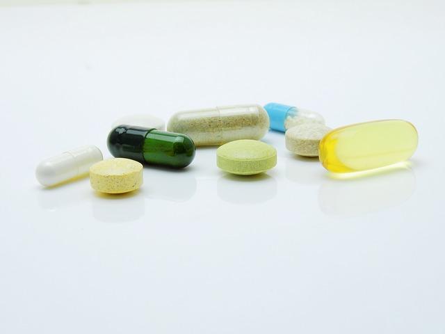 různé tabletky