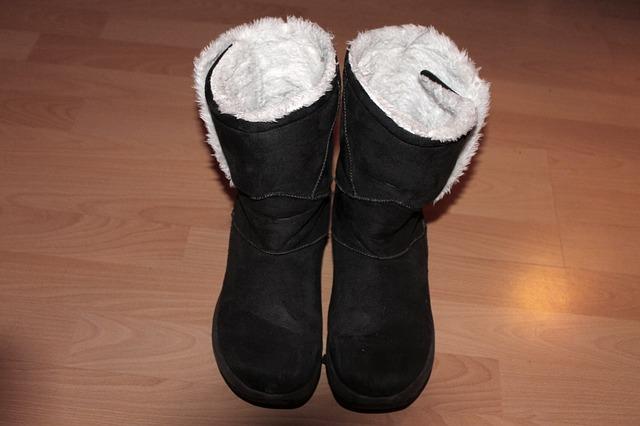 vlněné zimní boty