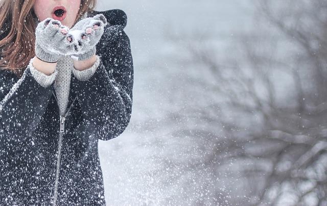 foukání sněhu