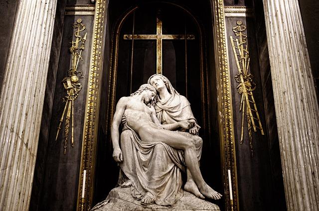 Ježíš s Pannou Marií