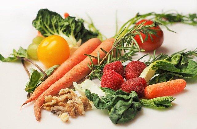 čerstvé zdravé potraviny