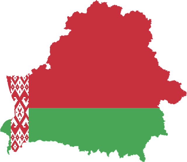 země bělorusko