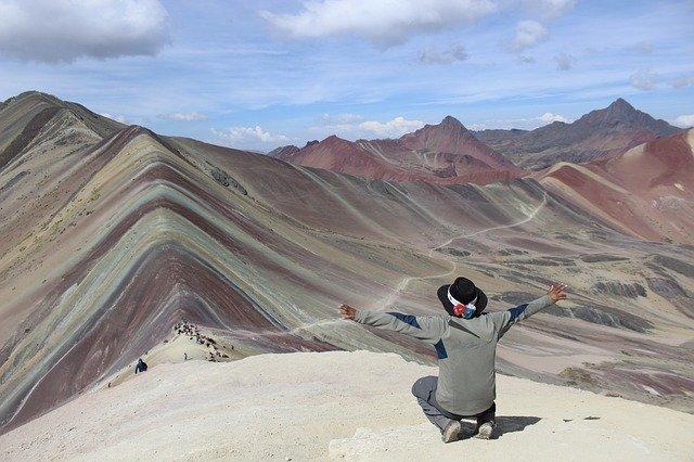 barevné hory