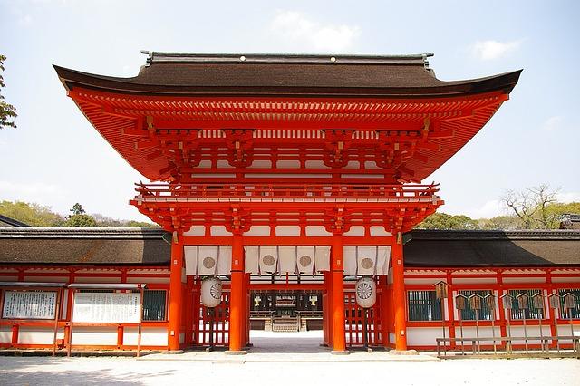 Japonsko - svatyně