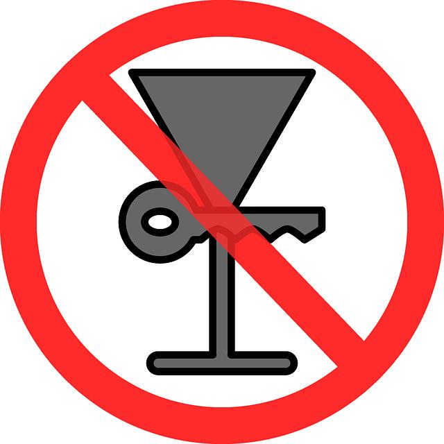 neřídit po alkoholu